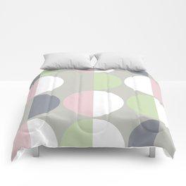 Mid Century Modern Moon & Sun pattern 1 Comforters