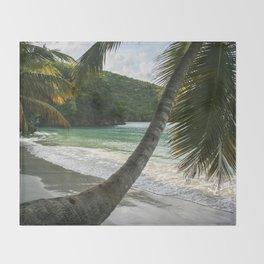 Maho Palms Throw Blanket