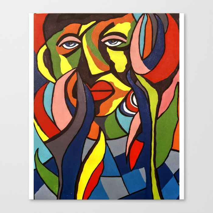 Abstract artwork pictures Paris African Traditional Tribal Women Abstract Art Canvas Painting Series Canvas Print Fulcrum Gallery African Traditional Tribal Women Abstract Art Canvas Painting Series