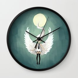 Angel 2 Wall Clock