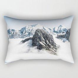 Up to the Mountains Rectangular Pillow