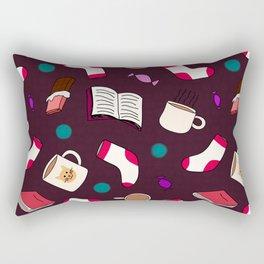 Winter Snuggles Rectangular Pillow