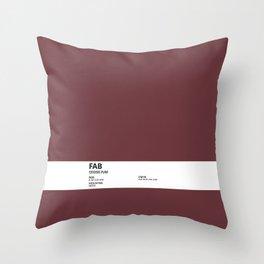 Fab - Colour Card Throw Pillow