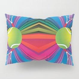 Tennis ball with rackets Pillow Sham