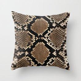 Snakeskin 2 Throw Pillow