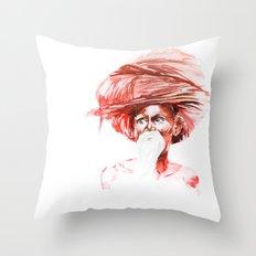 Old Indian Throw Pillow