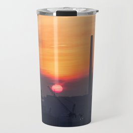 Sunrise over the Portlands Travel Mug