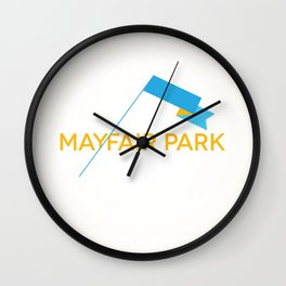 Mayfair Park Wall Clock