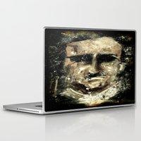 edgar allan poe Laptop & iPad Skins featuring Edgar Allan Poe by Anso Strange