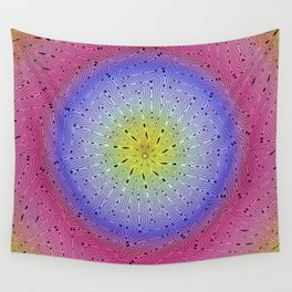 3005 Heat pattern Wall Tapestry