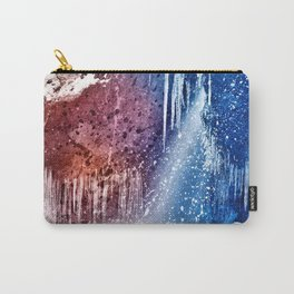 Acrylic Winter Stream Carry-All Pouch