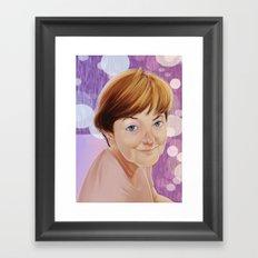 Maria Elena Walsh Framed Art Print