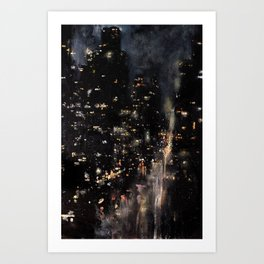 Fifth Avenue, 3 AM Art Print