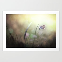 I can see you in my dreams... Art Print
