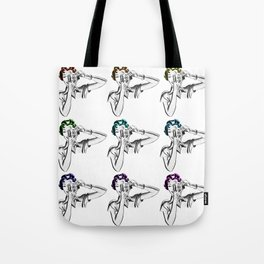 Can I take your picture?  Tote Bag