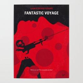 No974 My Fantastic Voyage minimal movie poster Poster