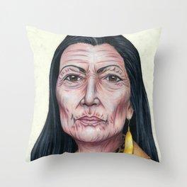 Deb Haaland Throw Pillow