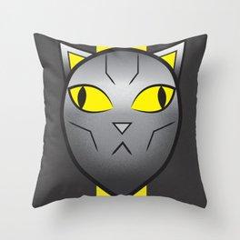 CatBot Throw Pillow