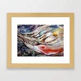 Ravine Framed Art Print