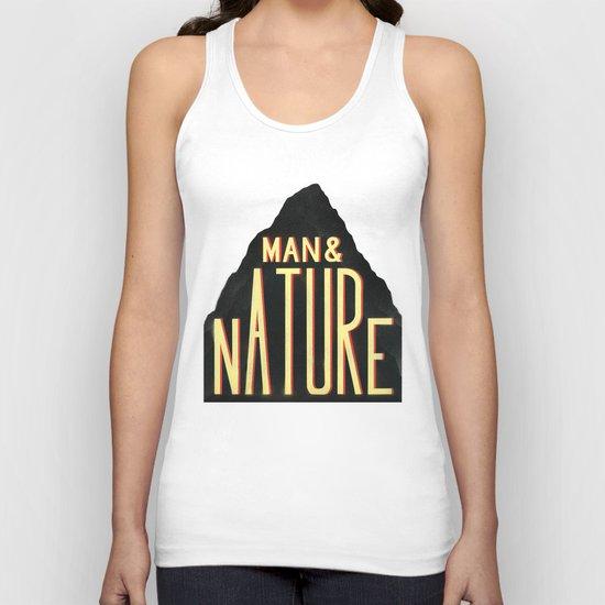 Man & Nature Unisex Tank Top