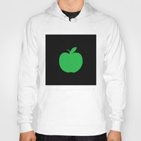 apple Hoodies featuring Apple by Mr and Mrs Quirynen
