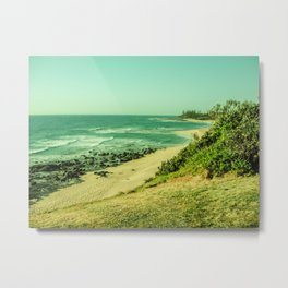Shelly Beach-Caloundra Qld Metal Print