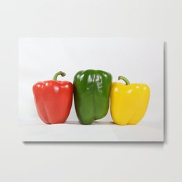 Bell Pepper Support Group Metal Print