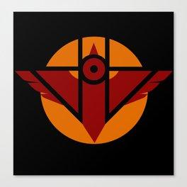 Firebird Insignia (Alternate Coloring 2) Canvas Print