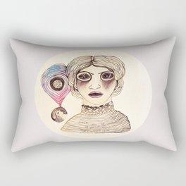 Cassandra three: mad. Rectangular Pillow