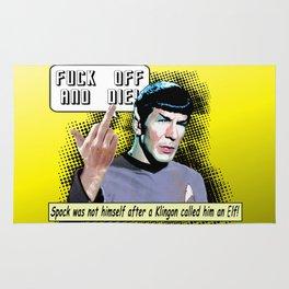 Spock.... Rug