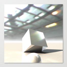 HDRI Cube Canvas Print