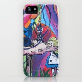"""""""Trippy Alice in Wonderland"""" iPhone Case"""