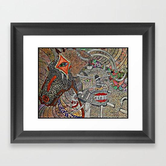 Mounted Framed Art Print