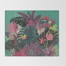 Tropical Tendencies Throw Blanket