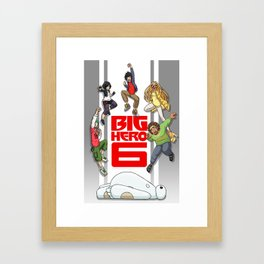 BH6 - We could be heroes! Framed Art Print
