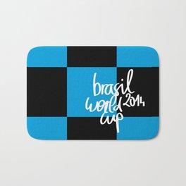 Brazil World Cup 2014 - Poster n°7 Bath Mat
