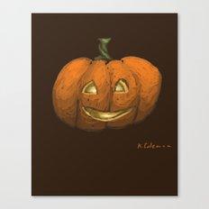 2016 Halloween Pumpkin Canvas Print