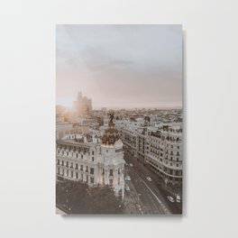 Spain II / Madrid Metal Print