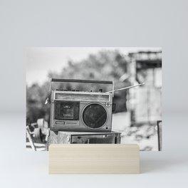 Boombox Mini Art Print