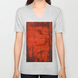 Red Roof Hatch Unisex V-Neck