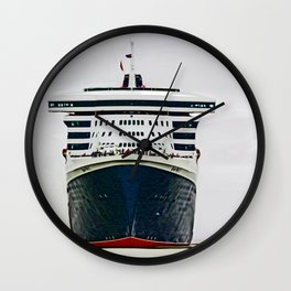 Queen Mary 2 Wall Clock