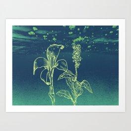 Blommor Art Print