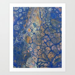 Octopus Abstracted Art Print