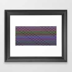 Static VIII [Rainbow Drinker] Framed Art Print