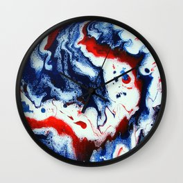 Patriotic 12.2 Wall Clock