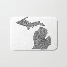 Michigan Map Bath Mat