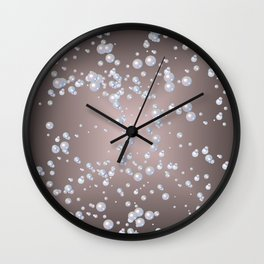 bubbles Wall Clock
