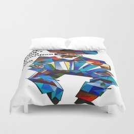 Everything's Going Accordion To Plan Duvet Cover
