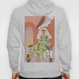 Night in Desert Hoody