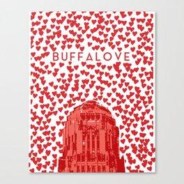 BUFFALOVE Canvas Print